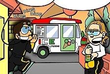 Formel 1 - Wo war der Iceman?: Neuer Comic: R�ikk�nen ist zur�ck
