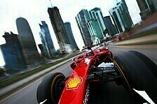 Formel 1 - Bilder: Ferraris Show-Run in Doha
