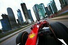 Formel 1 - Bilder: Ferraris Show-Run in Doha