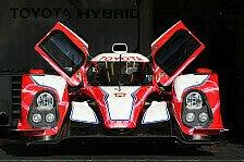 WEC - Rollout wohl noch ausstehend: Toyotas neuer LMP1: Pr�sentation erst im M�rz