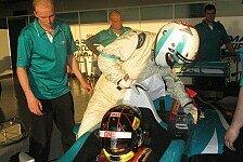 Formel 1 - Polster nicht zum Spa�: Video - Motorsport-Magazin.com im Doppelsitzer