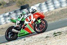 Bikes - Start auf dem richtigen Weg: WSS - Leonov testet in Almeria