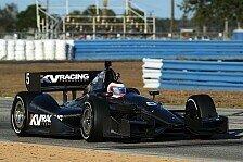 IndyCar - Zukunft liegt ins Rubens' H�nden: Barrichello: Test-Tag mit einem L�cheln beendet