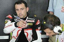 MotoGP - R�ckflug nach Spanien: Barbera: Zum Gl�ck nichts Ernsthaftes
