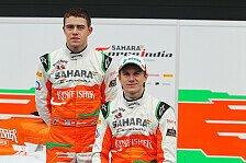 Formel 1 - Spielen keine Spielchen: Force India steht hinter junger Fahrerpaarung