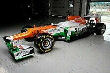 Formel 1 - Der Name ist Programm: Force India: Mit dem VJM05 auf P5
