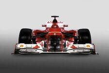 Formel 1 - Rote, h�ssliche Kampfansage: Ferrari bl�st zum gro�fl�chigen Angriff