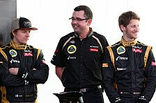 Formel 1 - Die Kimi-Situation: Blog - Grosjean auf ewig die Nummer 2