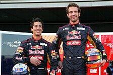 Formel 1 - Ricciardo & Vergne ganz oben auf der Liste: Horner setzt auf STR-Nachwuchs