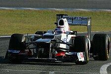 Formel 1 - C31 ist zuverl�ssig: Sauber absolvierte umfangreiches Testprogramm