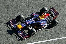 Formel 1 - Nebel sorgte f�r Verz�gerung: Webber: Erste Ausfahrt im RB8 steigert Vorfreude