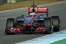 Formel 1 - Gleiche Autos sind langweilig: Button: McLaren hat eigene Nasen-Philosophie