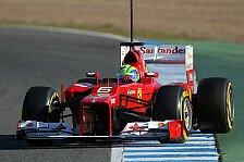 Formel 1 - Viel Potenzial geortet: Massa: Kilometer wichtig f�r Ferrari