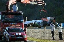 Formel 1 - Force India im Pech: Tag 3: Rosberg setzt Mercedes erneut auf P1