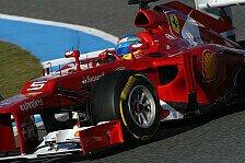 Formel 1 - Vettel mit Problemen: Tag 4: Alonso f�hrt Bestzeit in Jerez
