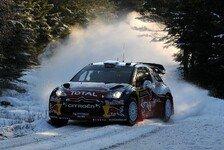 WRC - Auf dem Weg zum Hattrick : Schweden: Hirvonen f�hrt nach Freitagvormittag