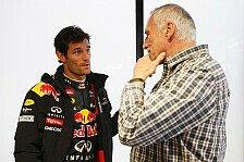 Formel 1 - Halte die Z�gel selbst in der Hand: Webber: Red-Bull-Verbleib meine Entscheidung