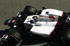 Formel 1 - Guti�rrez am Steuer: Sauber: Aero-Test in Vairano