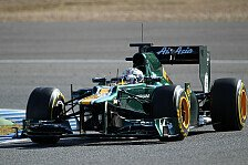 Formel 1 - Mit dem Team wachsen: Van der Garde glaubt an Caterham-Punkte
