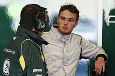 GP2 - Aus den Fehlern gelernt: Caterham mit van der Garde & Gonzalez
