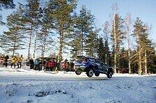 WRC - Hirvonen verliert viel Zeit: Latvala verteidigt Spitze in Schweden deutlich