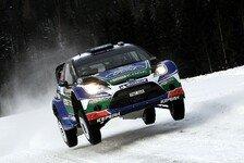 WRC - Solberg erneut mit Bestzeit: Schweden: Latvala geht in F�hrung schlafen