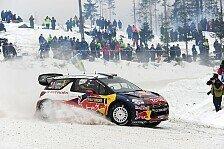 WRC - Fortschritte auf Schnee & Eis: Citroen: DS3 war in Schweden konkurrenzf�hig