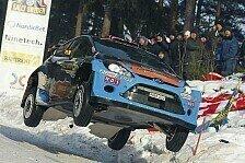 WRC - 50 Meter durch die Luft: �stberg springt zum Weltrekord