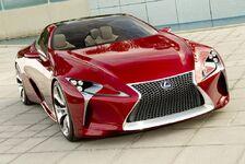 Auto - Lexus auf dem Genfer Autosalon 2012: Lexus feiert Europapremiere der Studie LF-LC