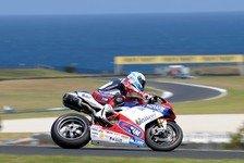 Superbike - Biaggi und Melandri auf Tuchf�hlung: Tests: Checa vorne, Haslam verletzt