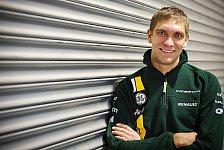 Formel 1 - Aus f�r Trulli : Caterham best�tigt Vitaly Petrov