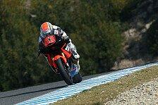 Moto2 - St�rze und rote Flaggen: Jerez Test Moto2 und Moto3 Tag 3