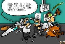 Formel 1 - Neuer Nasenb�r mit Silberglanz: Neuer Comic: Das erste Bild vom W03