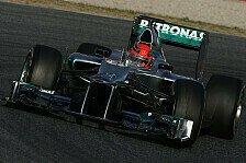 Formel 1 - Elegante Umsetzung des Reglements: Brawn: Mercedes muss nach vorne kommen