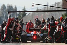 Formel 1 - Optimale Vorbereitung: Marussia �bt Boxenstopps