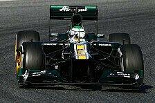 Formel 1 - Grunds�tzlich zuverl�ssig: Caterham: Problem mit der Aufh�ngung