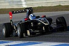GP3 - Eine Sekunde schneller als M�ller am Vortag: Vainio bringt Lotus in Estoril an die Spitze