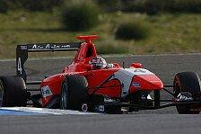 GP3 - Schwierige Bedingungen in Silverstone: Testfahrten: Mitch Evans an der Spitze