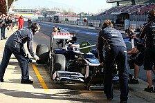Formel 1 - Schnell und pr�zise: Williams arbeitet an Boxenstopp-Performance