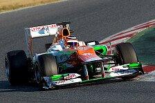 Formel 1 - Der klassische Quali-Reifen: H�lkenbergs Bestzeit: Wir sind eben Rennfahrer