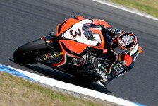 Superbike - Biaggi sucht Leistung, Laverty Kraft: Viel Arbeit bei Aprilia