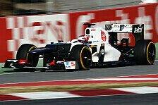 Formel 1 - Begeisterte Ingenieure: Kobayashi sieht Fortschritte bei Sauber