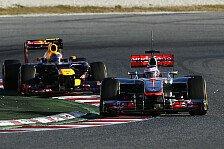 Formel 1 - Rollentausch mit McLaren: Webber: Im Rennen auf Augenh�he