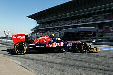 Formel 1 - Vergne sammelt Erfahrung: Toro Rosso: Programm abgeschlossen