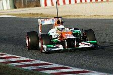 Formel 1 - Rundenzeit nebens�chlich: Force India auf Longruns schnell