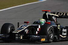 GP2 - Lotus GP dominiert das Sprintrennen: James Calado m�nzt Pole in Rennsieg um