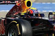 Formel 1 - Platz vier am Donnerstag: Mark Webber nach Test gespannt
