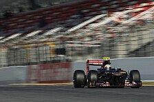 Formel 1 - Saisonvorbereitung f�r Vergne abgeschlossen: Motorschaden behindert Toro Rosso