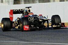 Formel 1 - Stunde der Wahrheit: Grosjean: Lotus auf dem vierten Platz