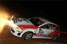 DRM - Timo Bernhard mit zwei Drehern: DRM-Meister f�hrt Rallye an